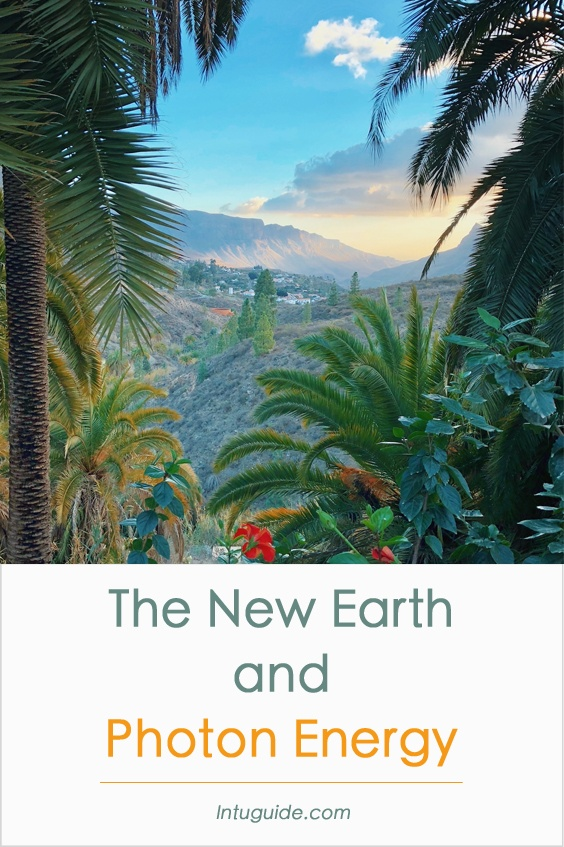 The New Earth and Photon Energy